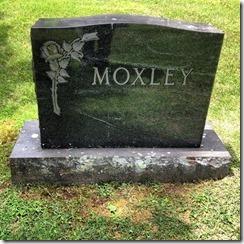 Martha mox headstone